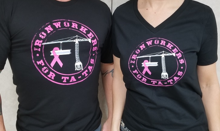 Ironworkers for Ta-Tas Shirts – Ironworkers USA Credit Union